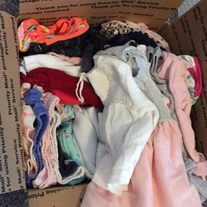 3-6 month baby girl lot carters etc. girl bundle
